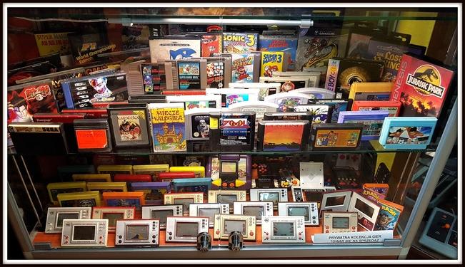 Skup i sprzedaż części, komputerów, gier i konsol